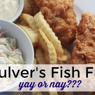 Culver's Fish Fry – Yay or Nay?