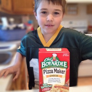 Fun with Chef Boyardee Little Chefs