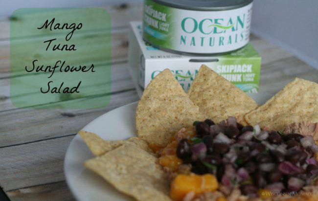 Mango Tuna Sunflower Salad