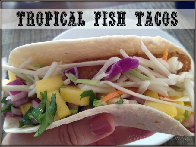 Yummy Tropical Fish Tacos