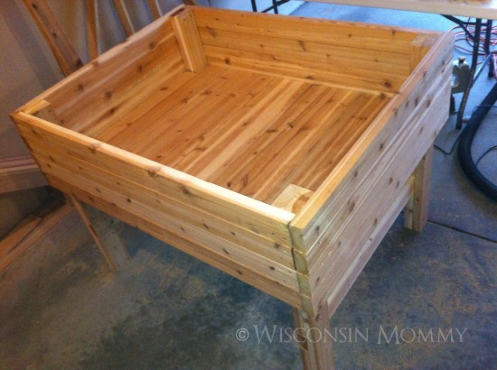Counter Height Garden Boxes : Ana White Counter Height Garden Boxes By Janet Fox DIY Projects Ana ...