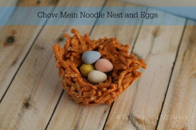 chow mein noodle birds nest butterscotch