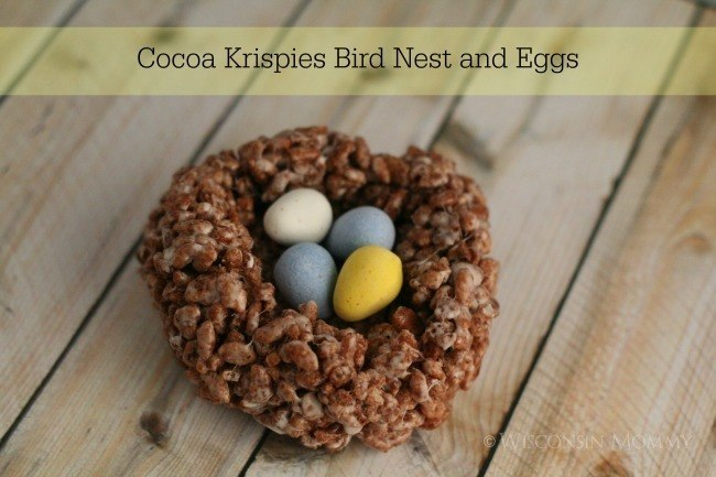 birds nest recipe rice krispies