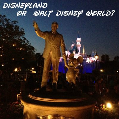 Should I Go to Disneyland or Walt Disney World? Five things to consider.