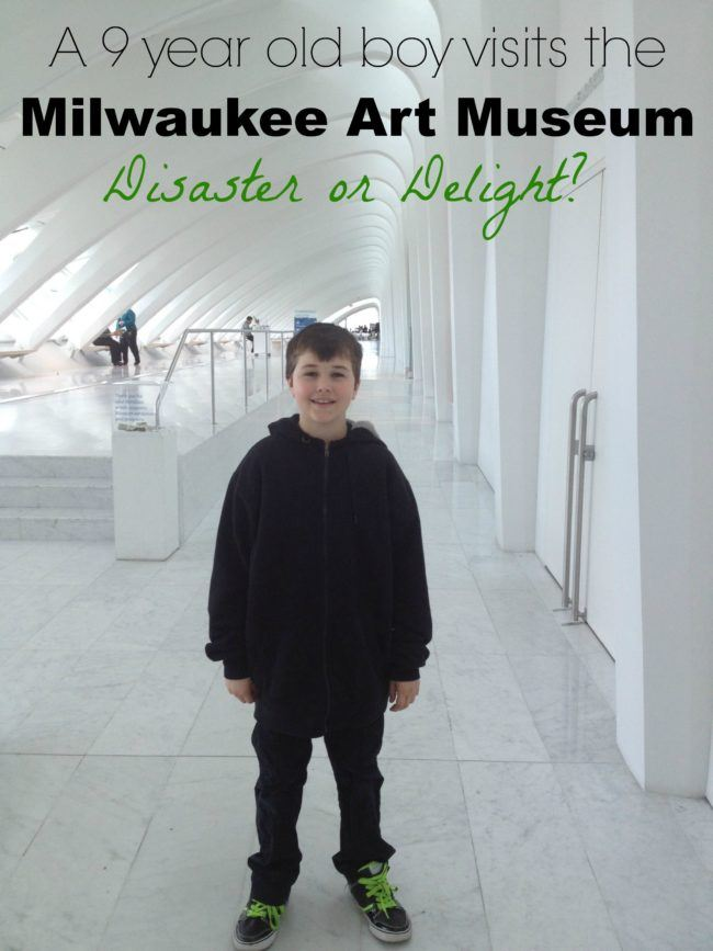 The Milwaukee Art Museum offers many programs that will interest kids.