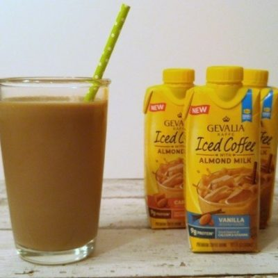 Gevalia Iced Coffee with Almond Milk Review