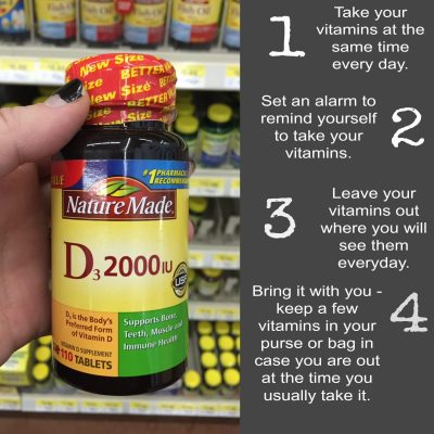 Tips for Remembering to Take Your Vitamins Everyday