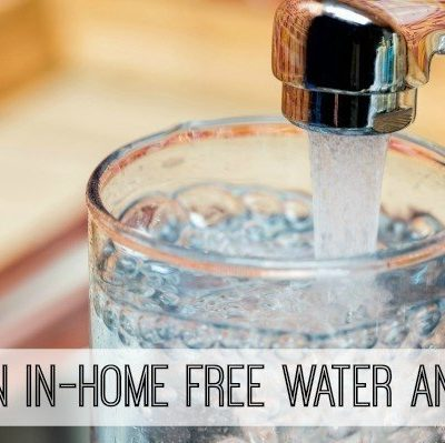 Get a Free Water Analysis and #SeeWaterClearly