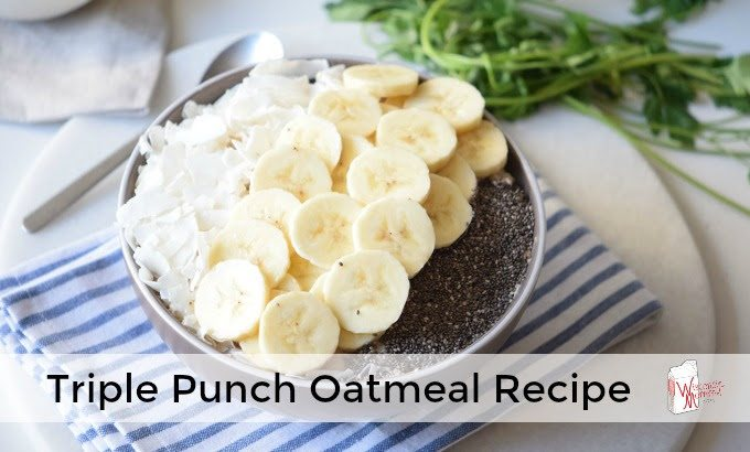 Triple Punch Oatmeal Recipe