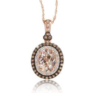 morganite-crown-pendant