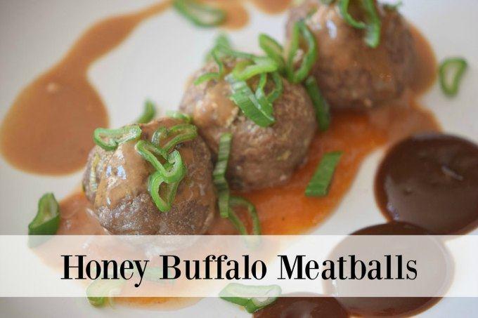 Honey Buffalo Meatballs