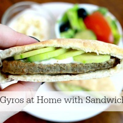 Easy Gyros at Home with Sandwich Bros.