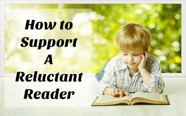 Support a Reluctant Reader