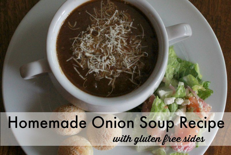 Homemade Onion Soup Recipe (and a giveaway!!)