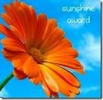The Sunshine Award…