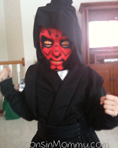 What to do on snow/sick days? Play dress up of course!
