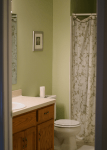 The Bathroom is Done! #gliddentesters