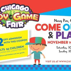 Chicago Toy and Game Fair (discount coupon)