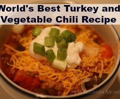Wisconsin Mommy's Turkey and Vegetable Chili Recipe