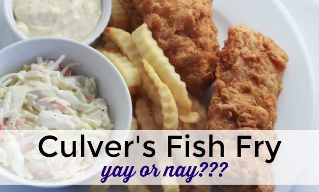 Is Culver's Fish Fry good???