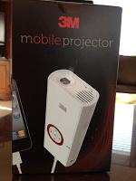 3M Mobile Projector Provides Home Entertainment Fun