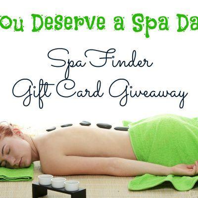 $50 SpaFinder Gift Card Giveaway