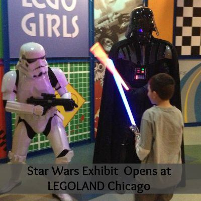 New Star Wars Exhibit at LEGOLAND Discovery Center Chicago