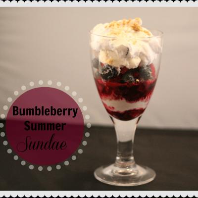 Delicious Summer Recipe: Bumbleberry Summer Pie Sundae