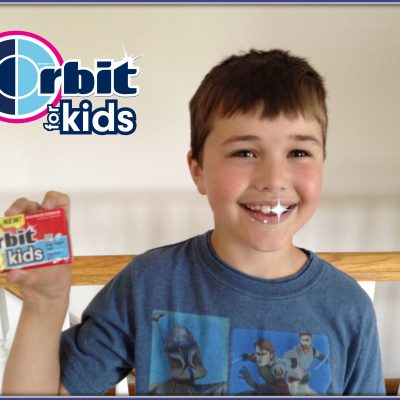 Orbit For Kids Helps Their Oral Hygiene And Tastes Great!