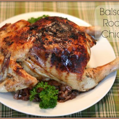 Balsamic Roasted Chicken Makes the Perfect Family Dinner