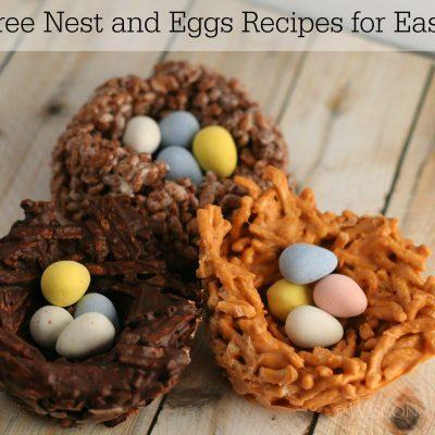 Three Easter Birds Nest Recipes