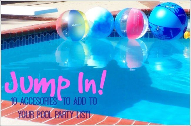 10 Pool Party Toys - Summer Fun