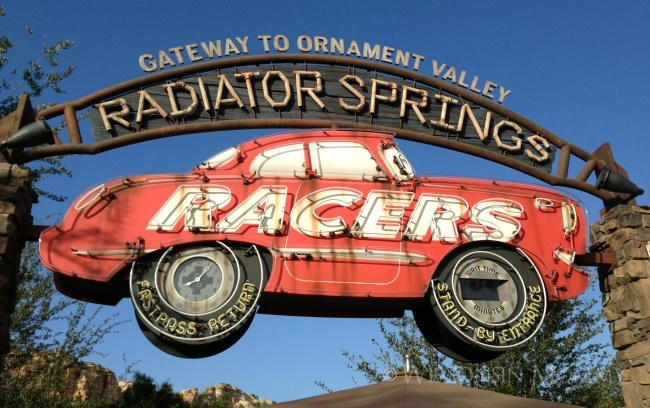disneyland radiator springs