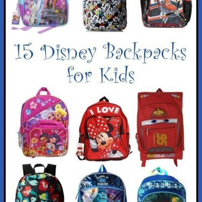 Disney Backpacks a HOT Back to School Must Have