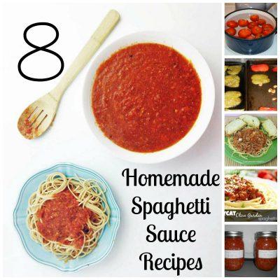 Need a Homemade Tomato Sauce Recipe?