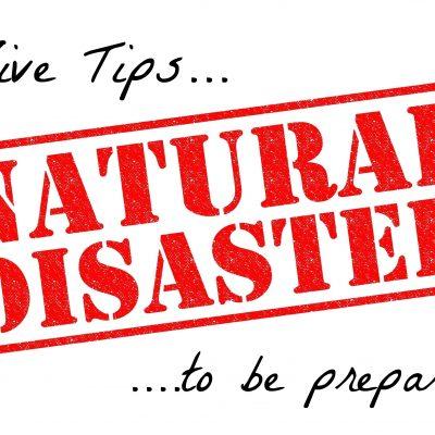 TOP 5 TIPS for Being Disaster Aware #NatlPrep