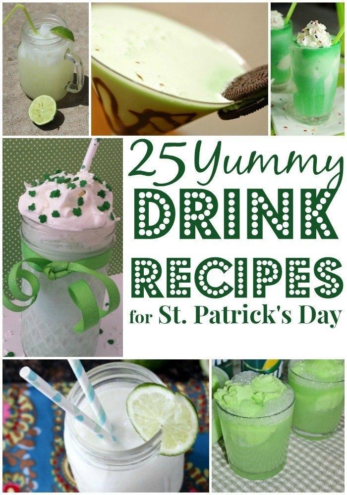 25 Yummy St. Patrick's Day Drinks