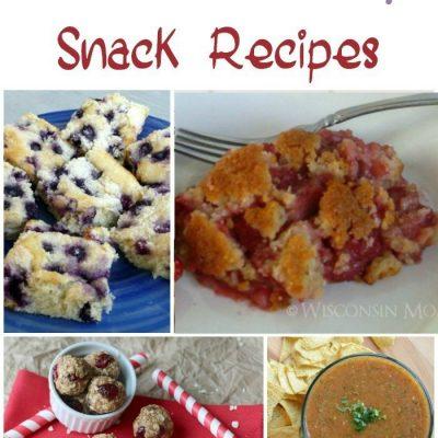25 Healthy Snack Recipes