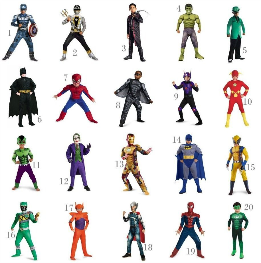 Super Hero Boy Costumes Under $30