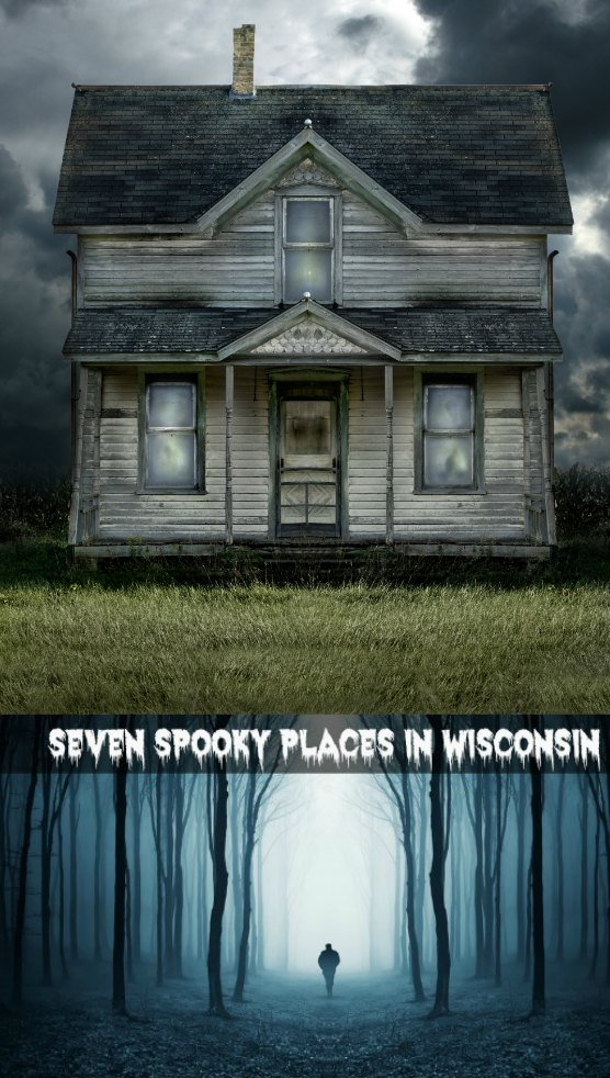These spooky places in Wisconsin are perfect travel destinations for those looking for haunted experiences. #wisconsin #hauntedmansion
