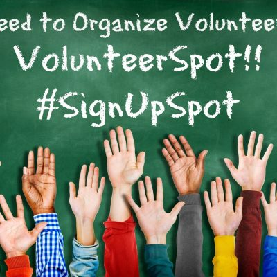 Stay Organized with VolunteerSpot #SignUpSpot