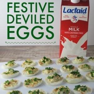 Festive Deviled Eggs Recipe