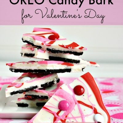 Delicious OREO Candy Bark Recipe for Valentine's Day