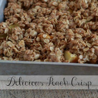 Delicious Peach Crisp Recipe