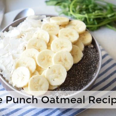 Triple Punch Oatmeal Recipe