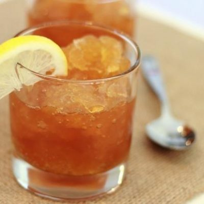 Lemony Sweet Tea Granita Recipe