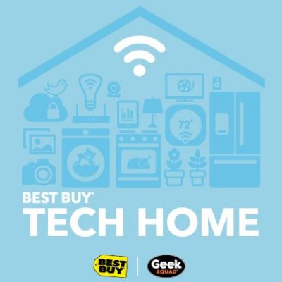 Try the Latest Tech at the #BestBuyTechHome at Mall of America