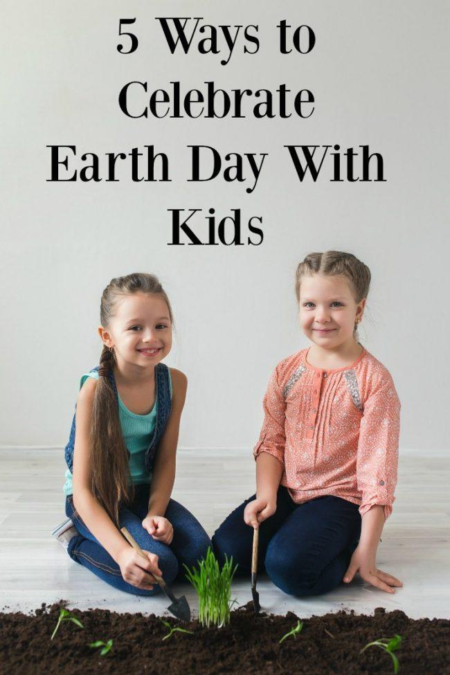 % Ways to Celebrate Earth Day with Kids