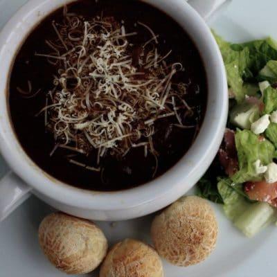 Homemade Onion Soup Recipe