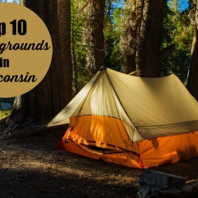 Top Ten Campgrounds in Wisconsin